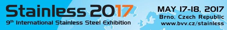 STAINLESS 2017, Brno 9th International Stainless Steel Fair